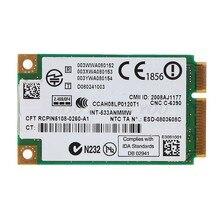 2.4 GHz & 5.0 GHz 5300 533AN_MMW kablosuz WLAN WiFi Mini PCIe kart 802.11n + 450Mbps cihaz modülü WiFi bağlantı kartı Drop Shipping