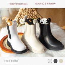 Boot menina crianças casuais outono inverno plutônio couro menino sapatos moda em botas de neve 2020 novas crianças martin botas