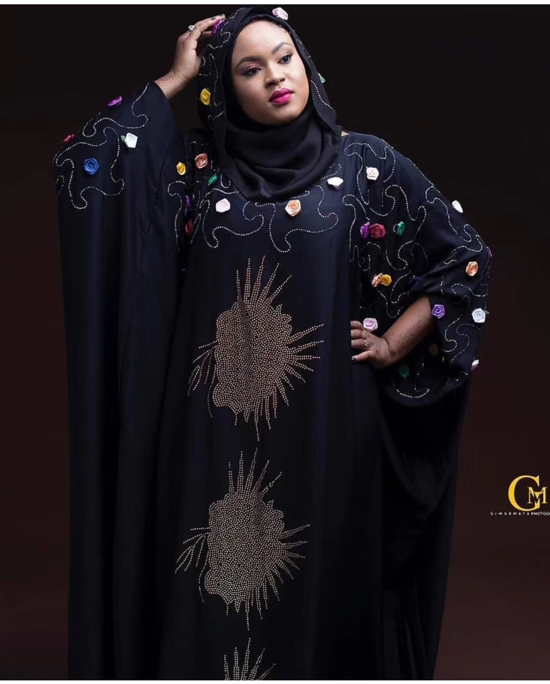 Image 4 - African Dresses For Women 2019 New African Women Clothing Fashion Africaine Robe Long Loose Maxi Dress Africa Clothes-in Africa Clothing from Novelty & Special Use