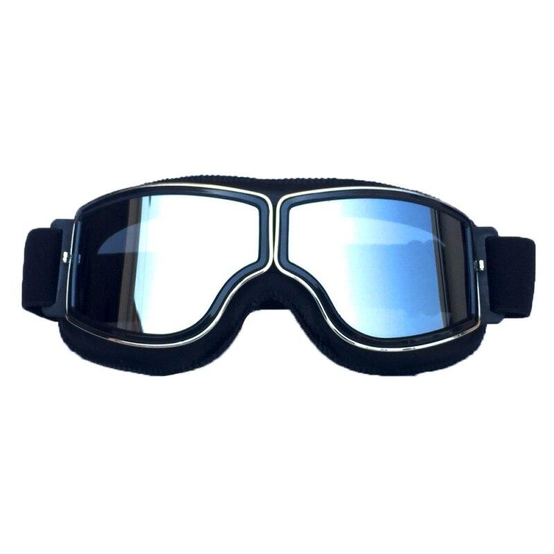 Vintage Universal Motorcycle Sports Goggles High Quality Shockproof Dustproof Helmet Winter Skiing Snowmobile Eyewear
