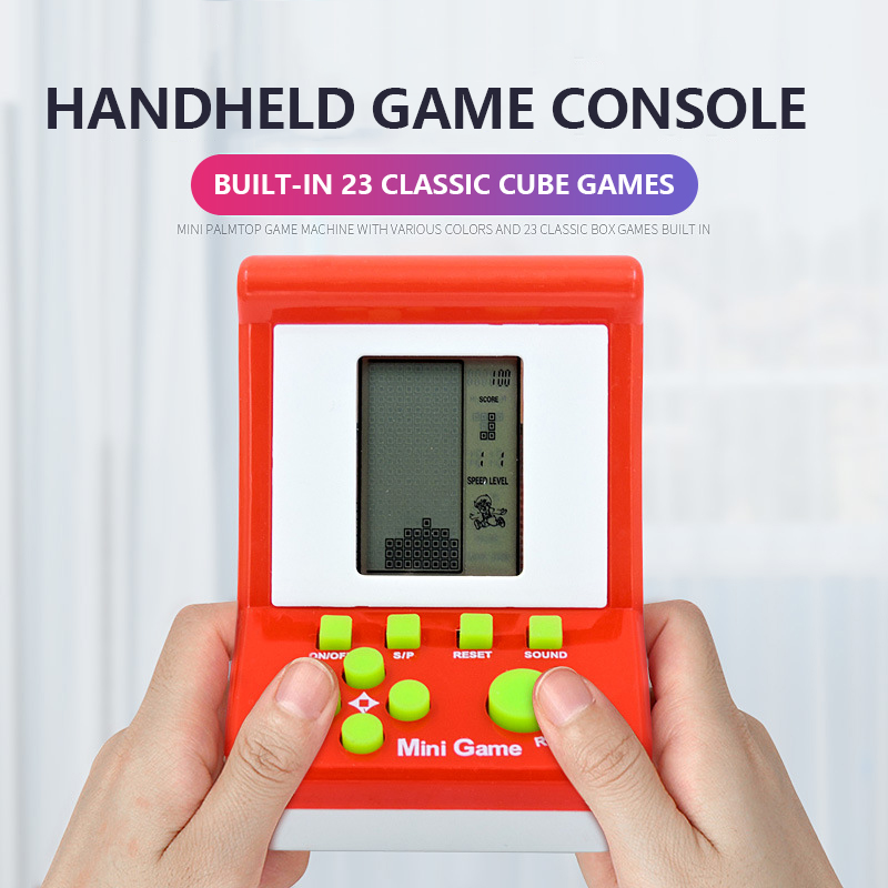 New Retro Arcade Handheld Game Players Tetris Classic Childhood Game Electronic Games Toys Game Console Educational Toy With Box|Strategy Games|   - AliExpress