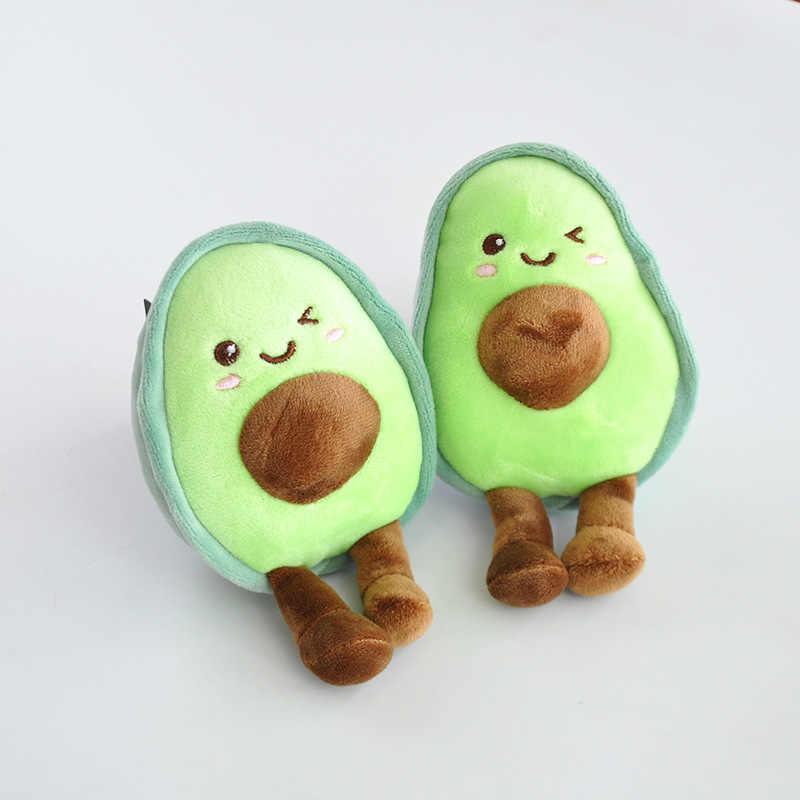 13cm Mini bơ sang trọng Đồ chơi hoạt hình trái cây mềm mại đầy vật có Hoa Mini Kawaii thực phẩm sang trọng gối Đồ chơi móc khóa cho bé cô gái trẻ em mặt dây chuyền