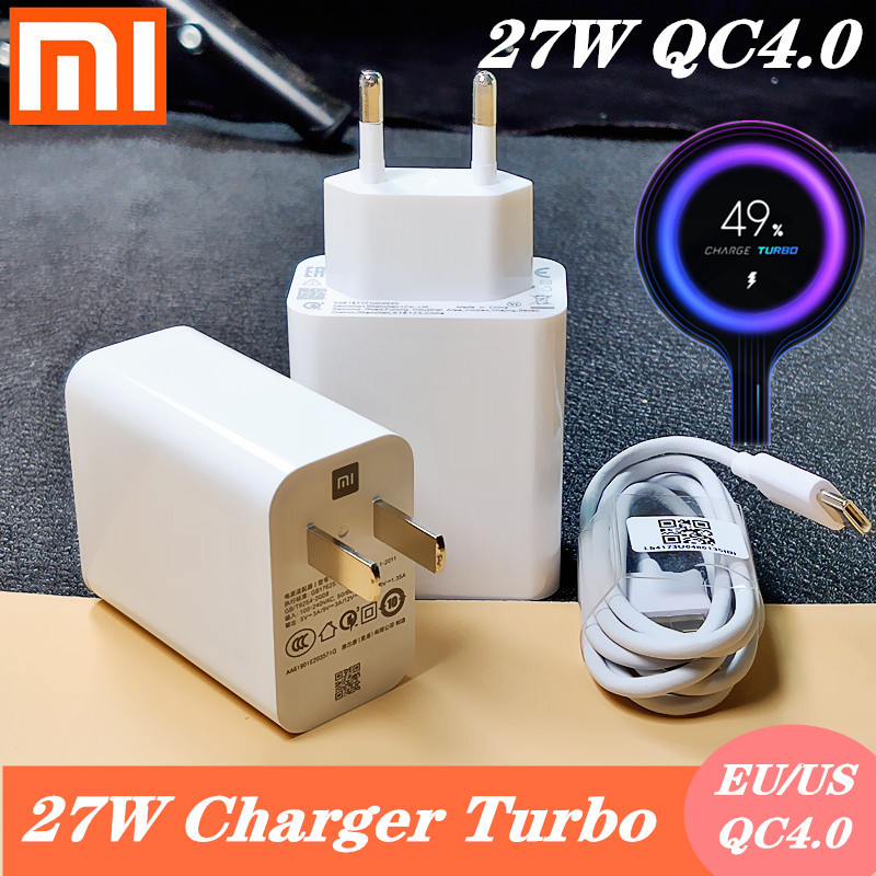 Xiaomi <font><b>Charger</b></font> <font><b>27W</b></font> Original MI9t Fast <font><b>Charger</b></font> Turbo Charge quick USB power adapter For <font><b>mi</b></font> 9 se 9t CC9 redmi note 7 8 pro K20 image