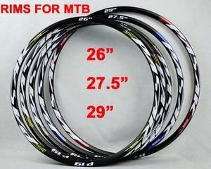 Колеса для велосипеда Pasak MTB, колеса 26, 27,5, 29, алюминиевый сплав, 24H, 32H, 21 мм