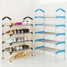 10 warstwy metalu/płótnie stojak na buty buty półka do przechowywania organizator drzwi zdejmowane szafka na buty półka dom umeblowanie