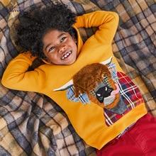 Sweatshirts Hoodies Little-Maven Animal Baby-Boy Kids Cotton Winter for 2-7-Years C0365
