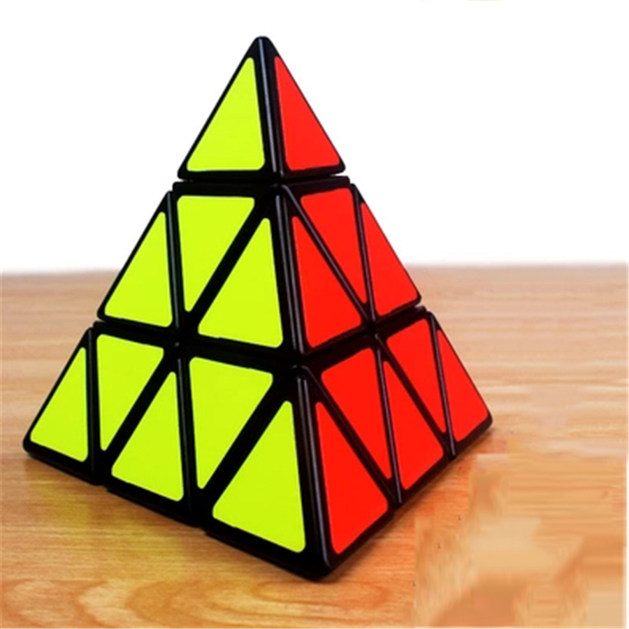 Intelligence Cube Brinquedo Educativo Puzzle Cubes Hand Infinite Magico Cubo Toy Gifts Demation New Cube Pyramid Puzzler EE50MF(China)