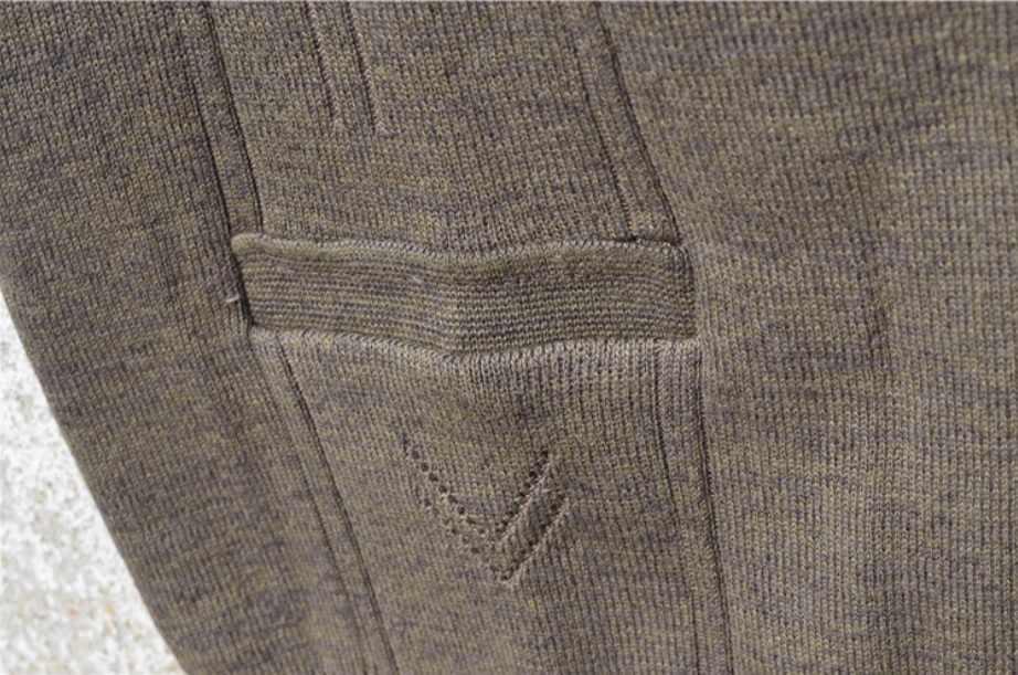 가을 겨울 플러스 사이즈 스웨터 조끼 망 민소매 v 넥 니트 점퍼 풀오버 남성 캐주얼 스웨터 코트 버튼