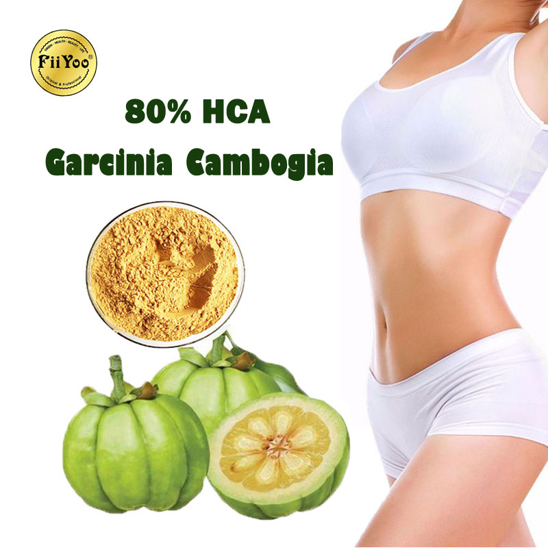 (2 Bottles) FiiYoo 80% HCA Garcinia Cambogia Lose Weight Extracts Butt Lift Muscle Build Reduce Appetite & Stomach Fat