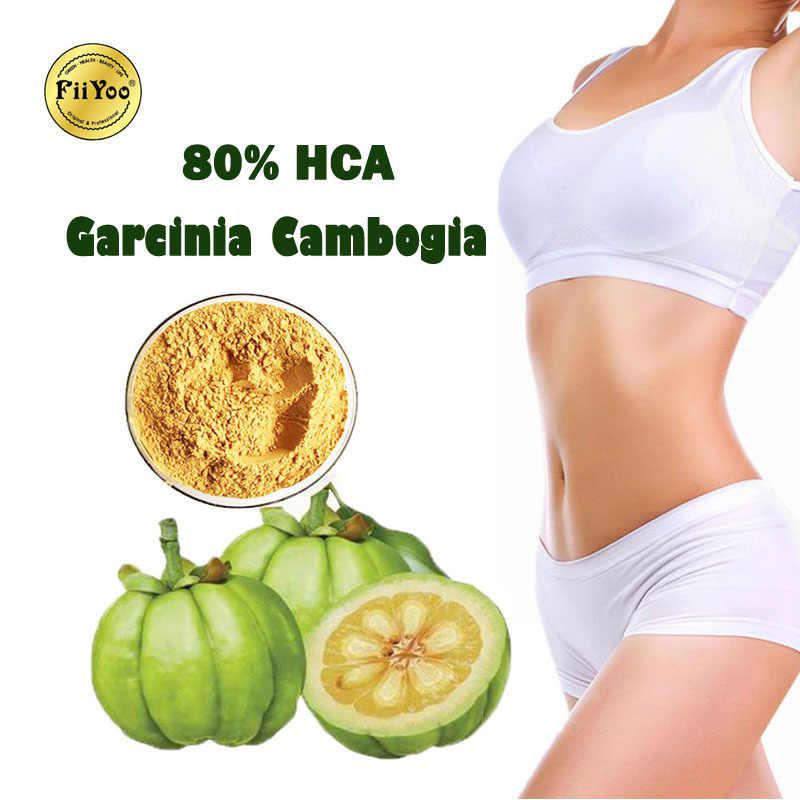 (2 ขวด) fiiYoo 80% HCA Garcinia cambogia ลดน้ำหนักสารสกัดจาก BUTT Lift กล้ามเนื้อสร้างลดความอยากอาหาร & กระเพาะอาหารไขมัน