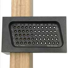 T50 строгальная столярная Т-образная деревообрабатывающая линейка отверстие алюминиевый сплав скрещенный измерительный инструмент деревообрабатывающая маркировочная линейка
