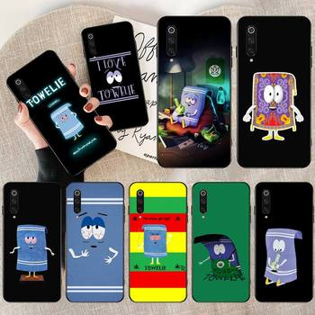 HPCHCJHM New towelie episode Anti-dirty Phone Case Cover for Xiaomi Mi9 9SE 8SE Pocophone F1 Mi8 Lite image