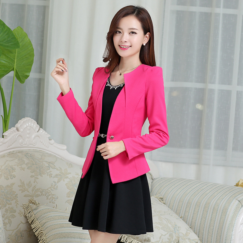 Blazer Feminino Coat Women Tops Plus Size Korean Style Blazers Mujer Woman Clothes 2020 Chaqueta Mujer KJ118