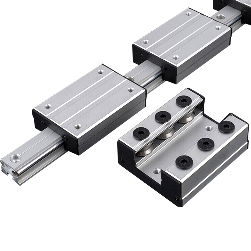 Frees Hipping 1pcs External Dual-axis Linear Guide Slider LGD6 Linear Rail Or LGB6 Linear Guide Slider For CNC Linear Rail
