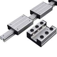 Frees hipping 1pcs External dual axis linear guide slider LGD6 linear rail or LGB6 linear guide slider for CNC linear rail|Linear Guides| |  -