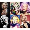 FUYUN 5D алмазная живопись своими руками, полные круглые бусины, вышивка Мэрилин Монро, фотографии, вышивка крестиком людей