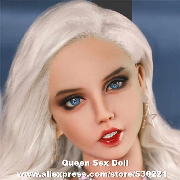 Wmdoll Top Kwaliteit Japanse Siliconen Sekspop Heads Voor Reborn Poppen Levensechte Liefde Poppen Hoofd Orale Volwassen Sexy Speelgoed