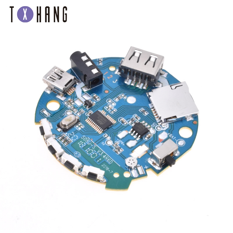 Bluetooth Audio 3.7-5V Receiver Amplifier Module präzise MP3 Decoder AHS
