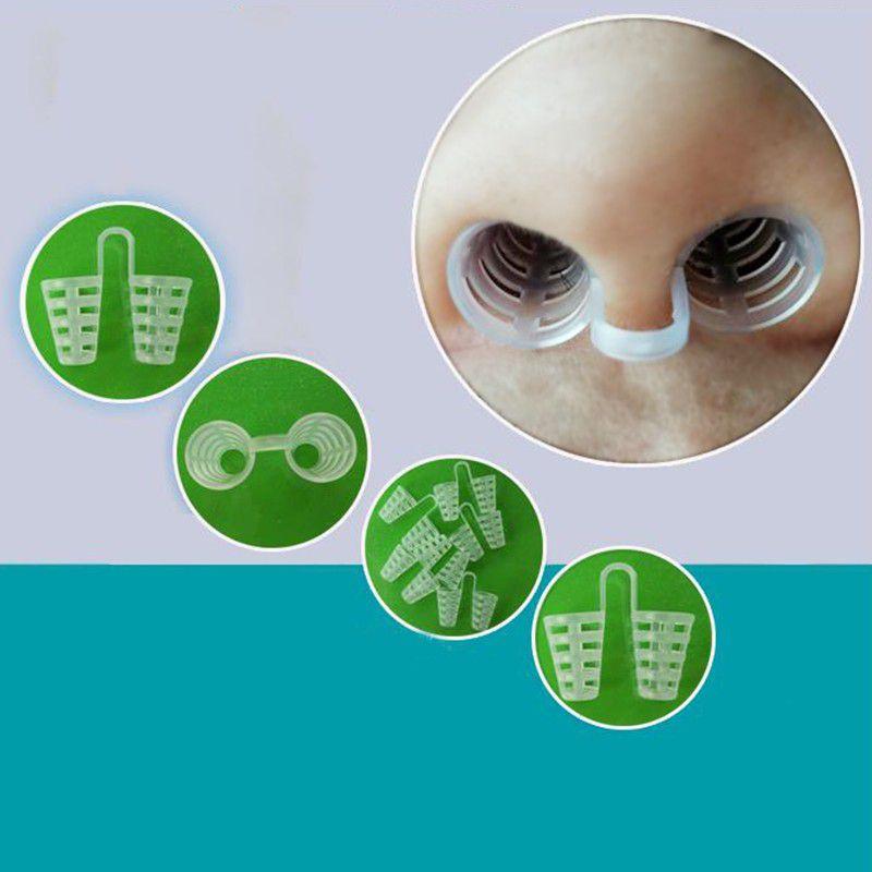4Pcs /lot Anti-snoring Nose Clip Mini Anti-snoring Nose Clip Sleeping Aid Equipment New. Non-toxic Respirator Nasal Dilator
