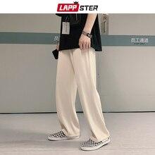 Harem-Pants Casual Joggers LAPPSTER Korean 5XL Fashions Harajuku Loose Men Straight Unisex