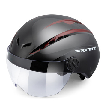1pcs MTB Road Bike Motorcycles Helmet Bicycle Safety Unisex Windproof Goggles One-piece Molding Breathable Cycling Helmet Riding mounchain lightweight unisex cycling helmet with detachable magnetic goggles aerodynamic helmet for motorcycle bike riding