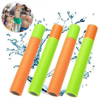 2PC Foam Water Gun Pool Accessories Children Summer Blaster Shooter Swimming Game Kids Outdoor Beach Sport Pool Water Game water gyro 4 0 2 4 m water game playing on the park lake swimming pool summer water toy outdoor game water park