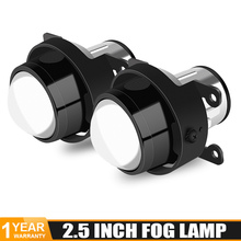 Universal 2,5 inch Nebel Licht Bi Xenon Projektor Linsen metall körper Nebel Lampe Montage Wasserdichte Hohe abblendlicht Auto zubehör