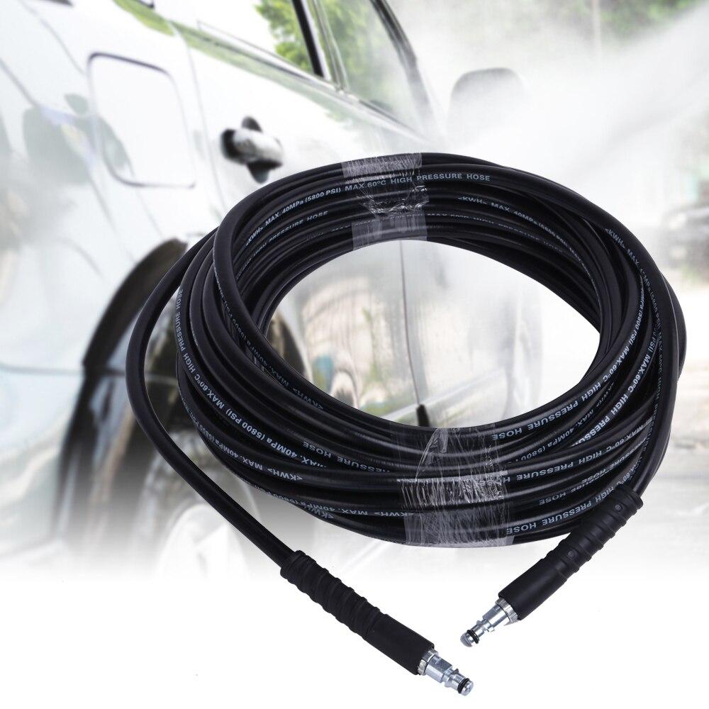 Myjnia samochodowa rura 6/8/10 M wysokie ciśnienie czyszczenie wody wąż do Karcher K2-K7 myjnia samochodowa pojazd domowy czyste narzędzie