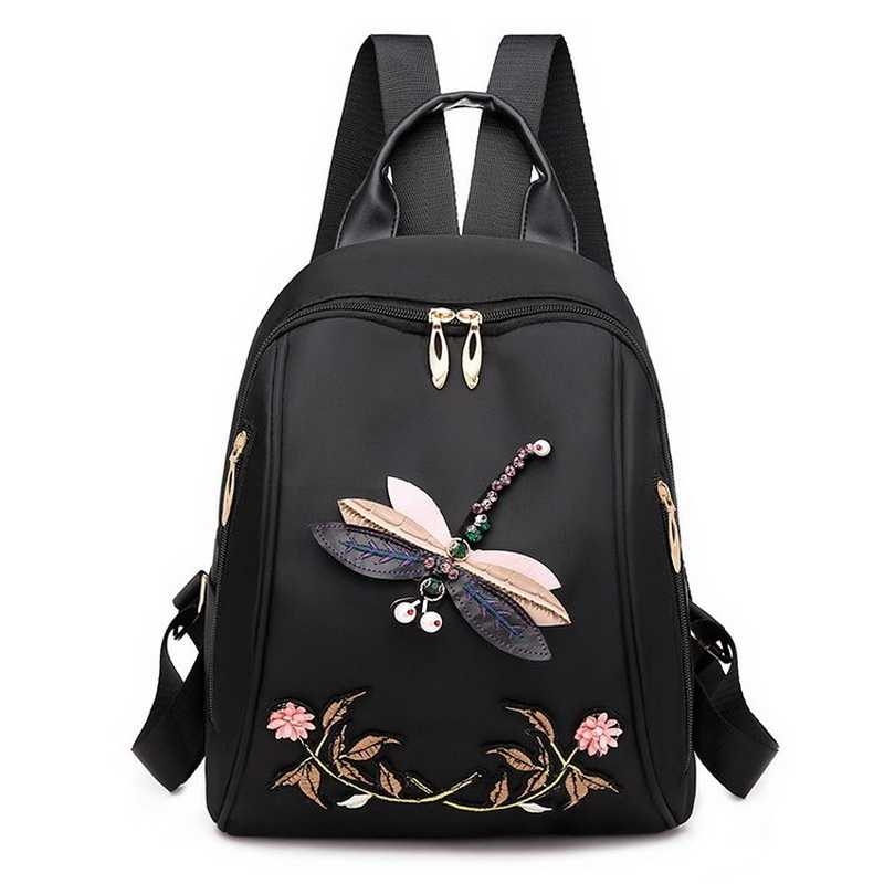 2020 Summer Casual Oxford Women's Backpack High Quality Student Girls School Bag Lady Travel Backpack