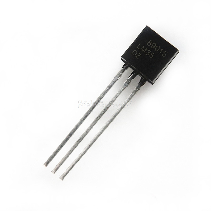 Hot Price #76f4 5pcs LM35DZ TO 92 LM35 TO92 LM35D   Adx