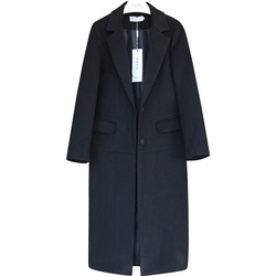 Preto camelo mulheres marca inverno jaqueta de lã quente engrossar casaco solto longo outerwear tamanho grande feminino outerwear lã jaqueta 4xl