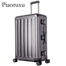 Полностью алюминиевый багаж на колесиках, чемодан на колесиках, чемодан для путешествий, 20 чемоданов для переноски, 22, 26, 30 проверенных багажа