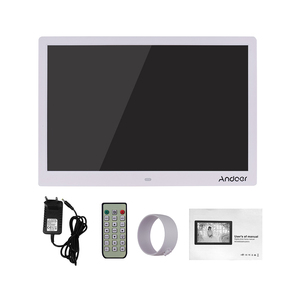 Image 5 - Andoer 15,4 Zoll 1280*800 LED Digitale Bild Foto Rahmen 1080P HD Video Spielen mit Fernbedienung Musik film E Book