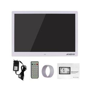 Image 5 - Andoer 15.4 pollici 1280*800 LED cornice per foto digitali 1080P riproduzione di Video HD con telecomando E Book di film musicali