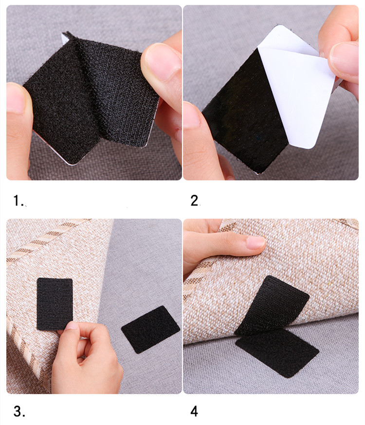 Non-slip Adhesive for Carpet and Home Furniture - 10 Pcs Double