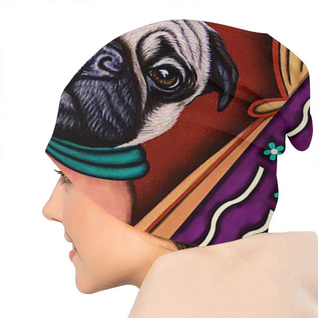 Creative Pug Printed Hat