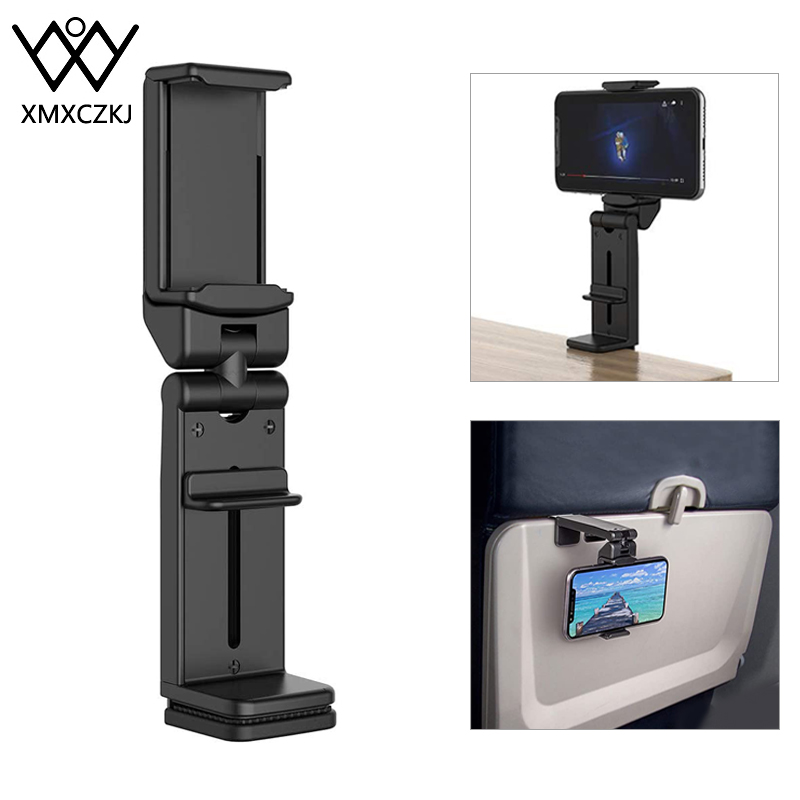 Travel Mini Mobile Phone Stand For IPhone Portable Flexible Travel Bracket Dining Table Stand   Phone Desk Tablet Holder For Bed