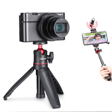 Vlog Tripod Microphone Phone-Mount-Holder Led-Light MT-08 Ulanzi DSLR A6300 Cold-Shoe