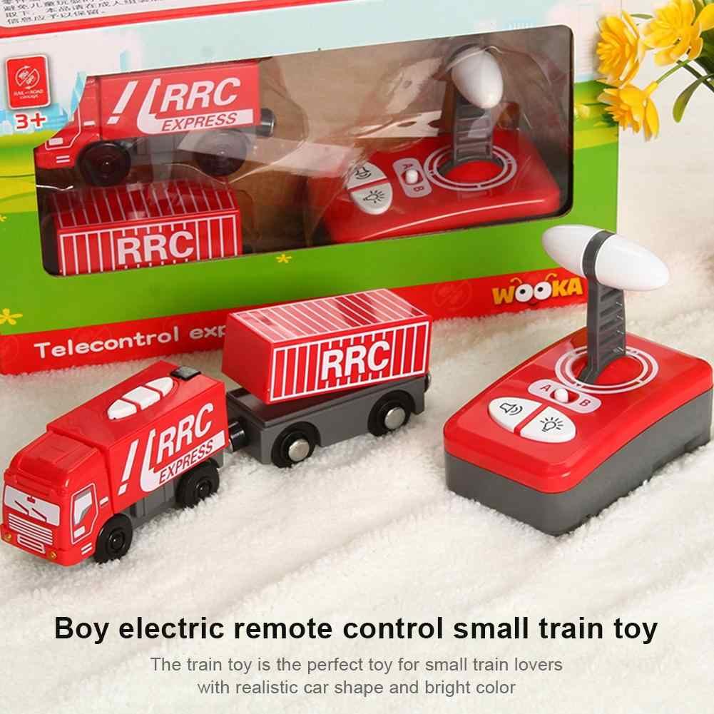 Электрический игрушечный поезд детский Электрический магнитный поезд Игрушка локомотив игрушка для Томаса деревянный трек игрушки для детей подарок