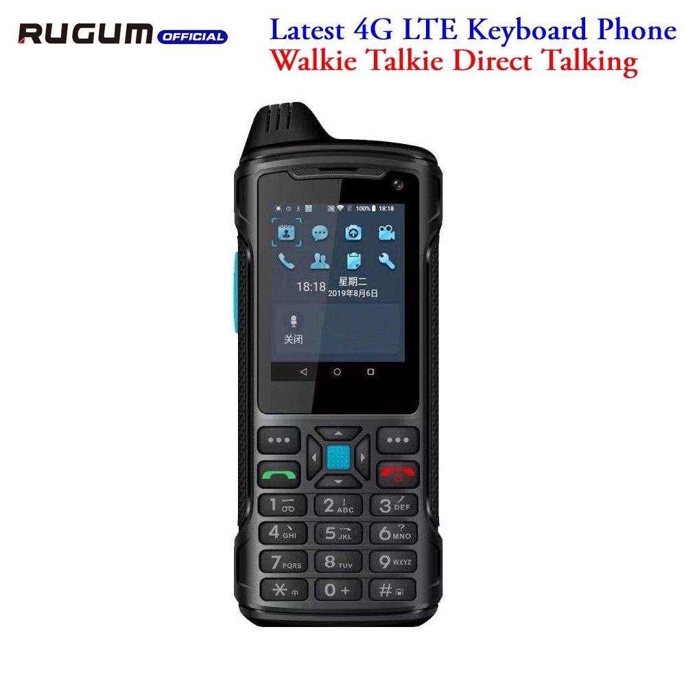 4G Lte смартфон с клавиатурой Android 8,1 Rugum W9 прямая рация смартфон IP67 водонепроницаемый прочный телефон русская клавиатура