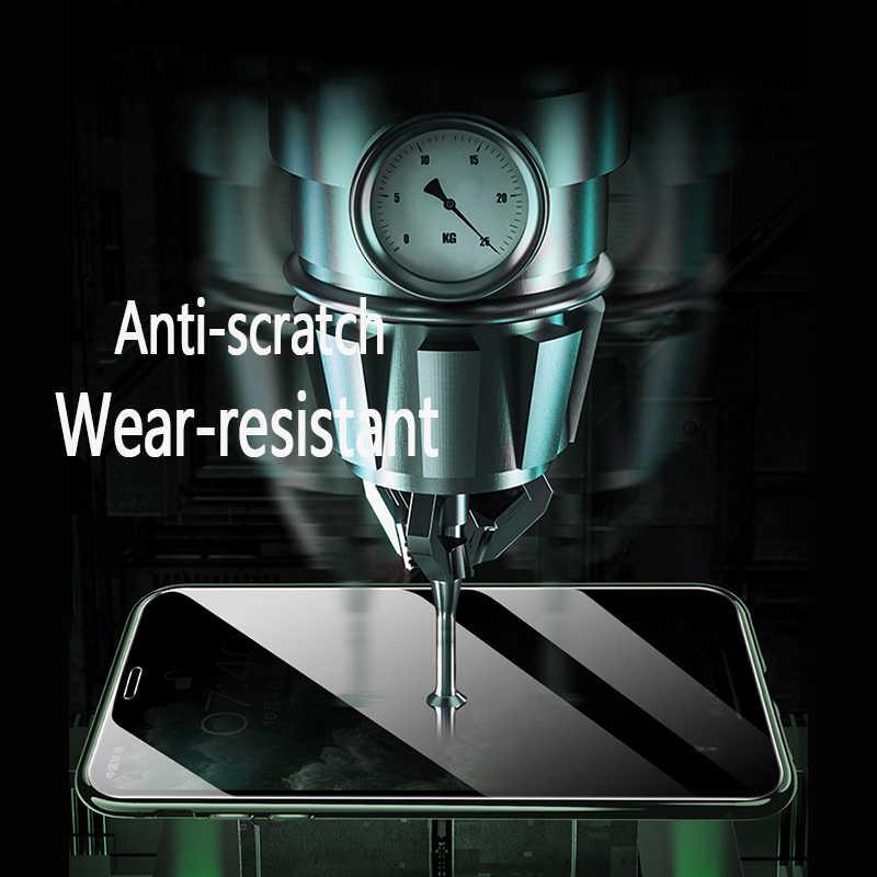 แม่เหล็กกระจกนิรภัยความเป็นส่วนตัวโลหะโทรศัพท์กรณีแม่เหล็ก Antispy สำหรับ IPhone SE 2020 XR XS MAX X 11 Pro MAX 6 6 S 7 8 PLUS