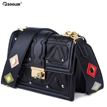 ZOOLER luxury handbags women bags designer for 2019 leather shoulder messenger woman fashion purse lady#GH216