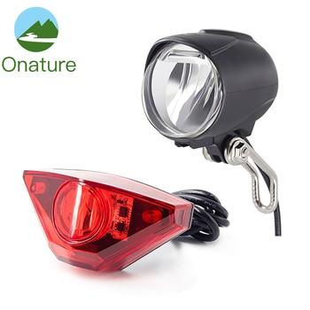 Ebike Light 800 Lumen with 2 Mount Way Motorcycle Headlight 2PCS T6 LED 12V 36V