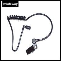 עבור baofeng 10 צינור אקוסטי נתיק עם אוזניית סיליקון עבור מוטורולה עבור אוזניות KENWOOD מעקב רדיו Baofeng שני בדרך (2)