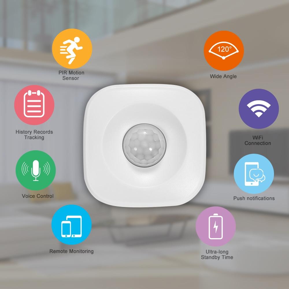 WIFI Smart Home PIR Motion Sensor Wireless Infrared Detector Security Burglar Protection Sensor Alarm System Smart Home