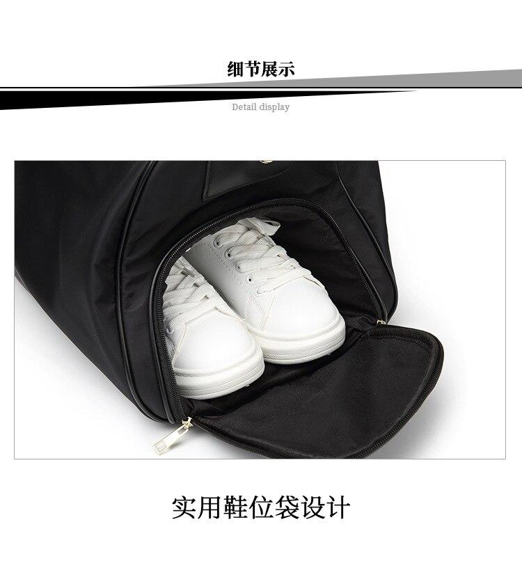 Novo prático cinto sapato saco de alta