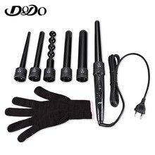 DODO Pro 5 Part Interchangeable Hair Curling Iron Machine Ceramic Hair