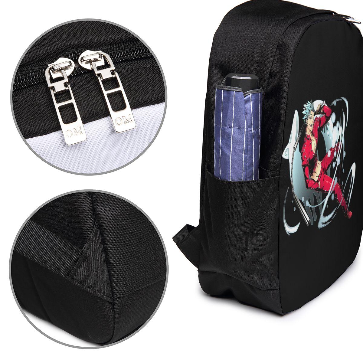 Nanatsu No Taizai The Seven Deadly Sins Backpack Nanatsu No Taizai The Seven Deadly Sins Backpacks Men's Women's Trend Bag Bags