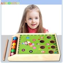 Детская мини-бильярдная игра, игрушки, мини-Бильярд, концентрат, детская головоломка, обучающая игрушка для родителей и детей, семейные вечерние игры