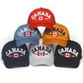 Бейсбольная Кепка с вышивкой из хлопка Gorras, Канада, флаг Канады, Кепка Snapback, Регулируемая Кепка унисекс для папы, 2020